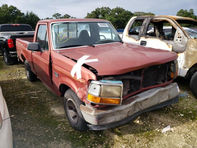 Salvage cars for sale from Copart Ocala, FL: 1995 Ford F150
