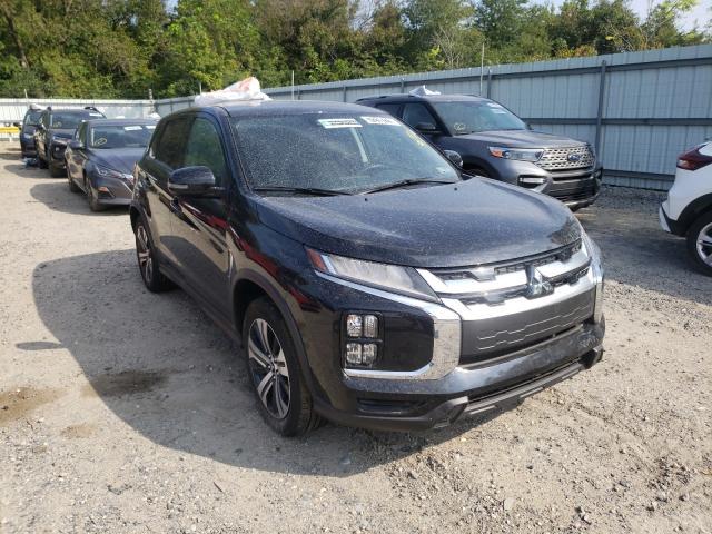 Salvage cars for sale from Copart Glassboro, NJ: 2021 Mitsubishi Outlander