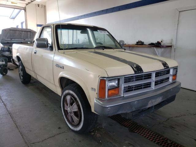 Salvage cars for sale from Copart Pasco, WA: 1987 Dodge Dakota