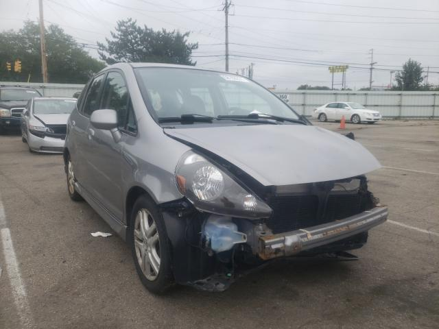 Salvage cars for sale from Copart Moraine, OH: 2007 Honda FIT S