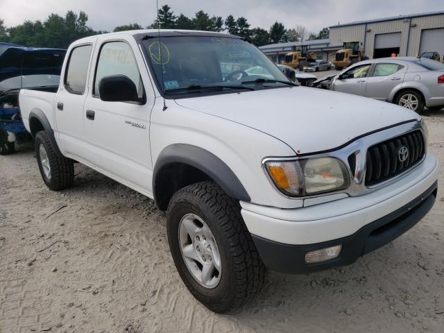 2002 Toyota Tacoma DOU en venta en Mendon, MA