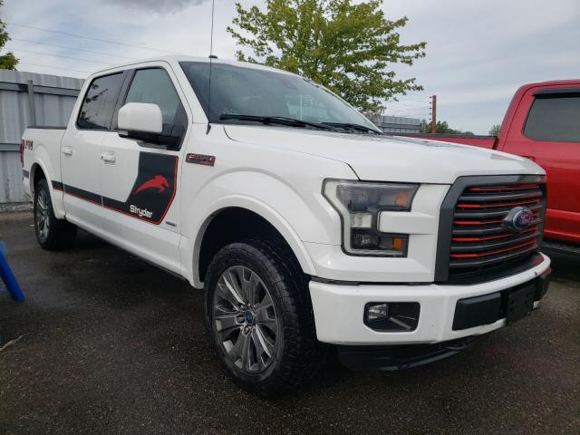 Salvage cars for sale from Copart Bowmanville, ON: 2016 Ford F150 Super