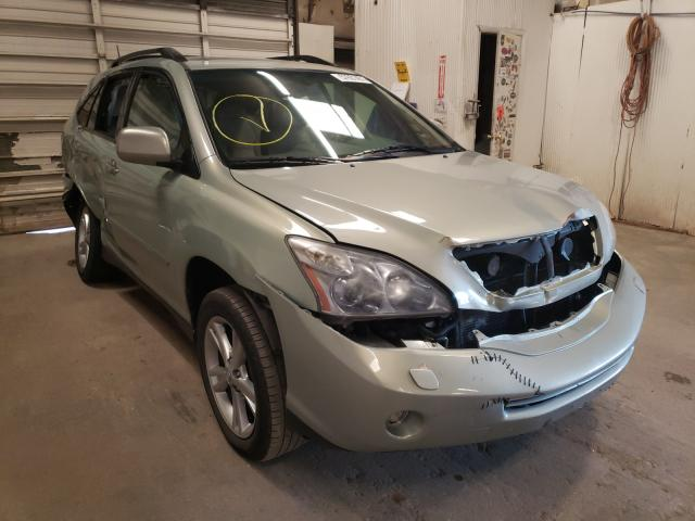 Salvage cars for sale from Copart Casper, WY: 2008 Lexus RX 400H