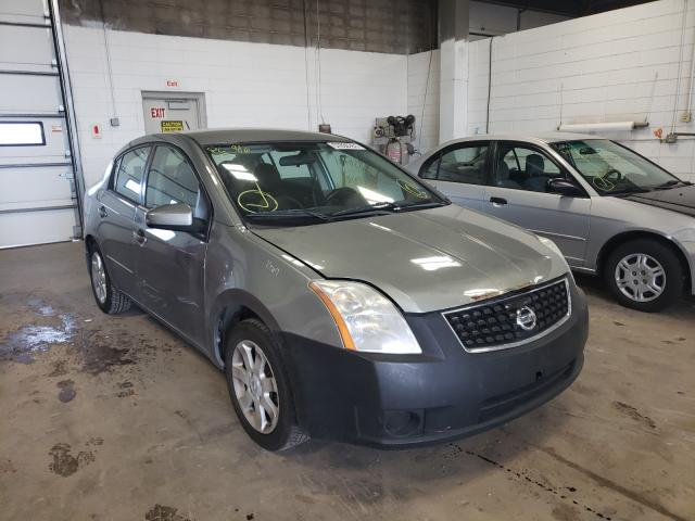 Salvage cars for sale from Copart Blaine, MN: 2009 Nissan Sentra 2.0