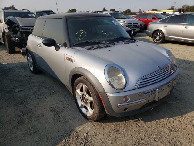Mini Cooper salvage cars for sale: 2002 Mini Cooper