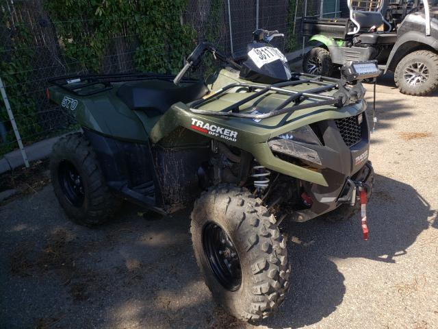 Tracker salvage cars for sale: 2020 Tracker 570 ATV