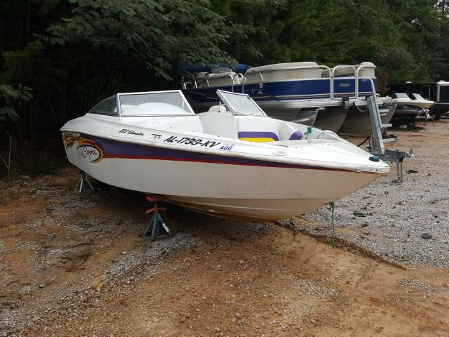 Salvage boats for sale at Hueytown, AL auction: 2003 Baja 0M633797
