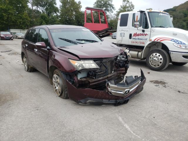 Salvage cars for sale from Copart Ellwood City, PA: 2007 Acura MDX
