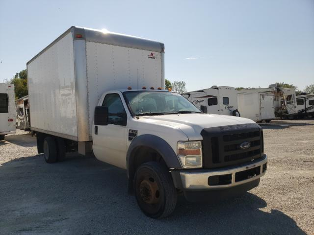Salvage cars for sale from Copart Des Moines, IA: 2008 Ford F450 Super
