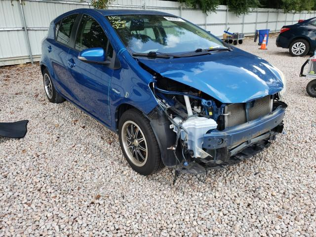 Salvage cars for sale from Copart Knightdale, NC: 2012 Toyota Prius C