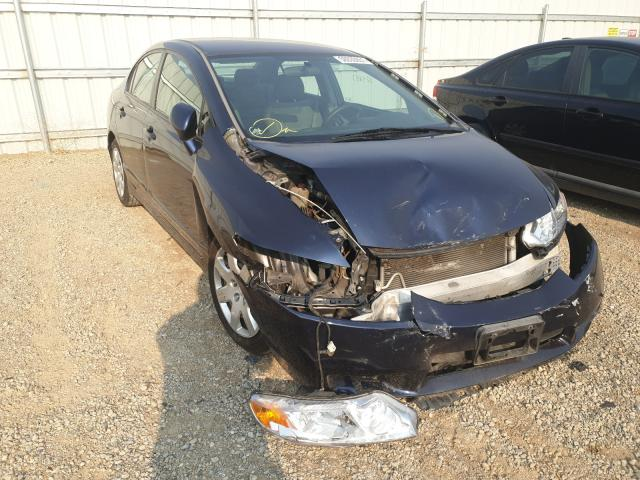 Salvage cars for sale from Copart Anderson, CA: 2010 Honda Civic LX