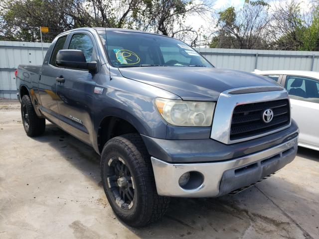 Salvage cars for sale from Copart Corpus Christi, TX: 2007 Toyota Tundra DOU