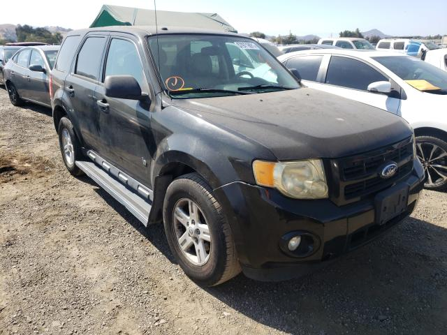 Salvage cars for sale from Copart San Martin, CA: 2011 Ford Escape Hybrid
