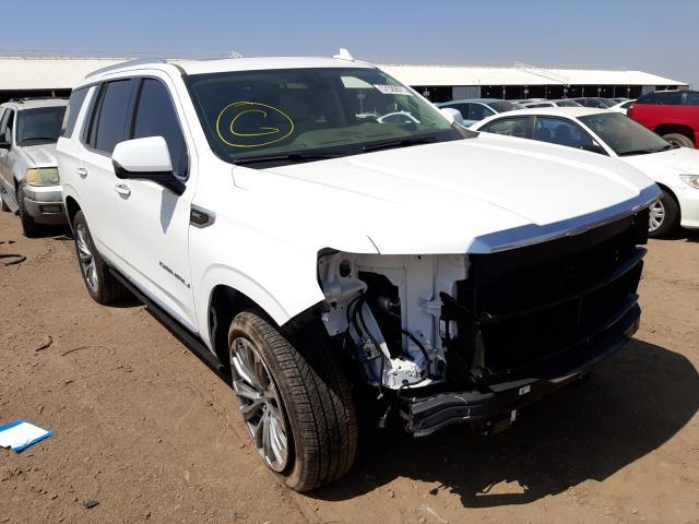 Salvage cars for sale at Phoenix, AZ auction: 2021 GMC Yukon Dena