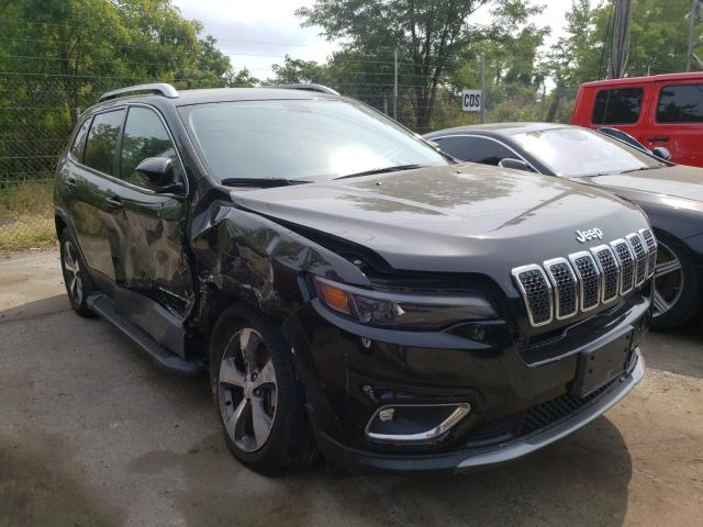 Salvage cars for sale from Copart Marlboro, NY: 2019 Jeep Cherokee L