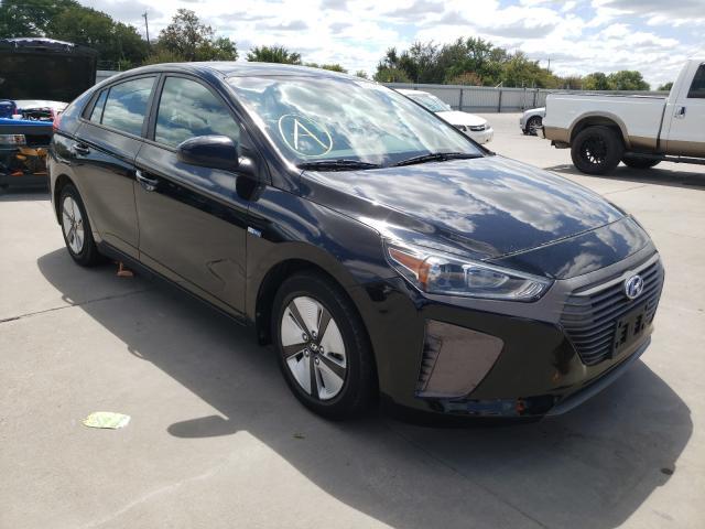 Vehiculos salvage en venta de Copart Wilmer, TX: 2017 Hyundai Ioniq Blue
