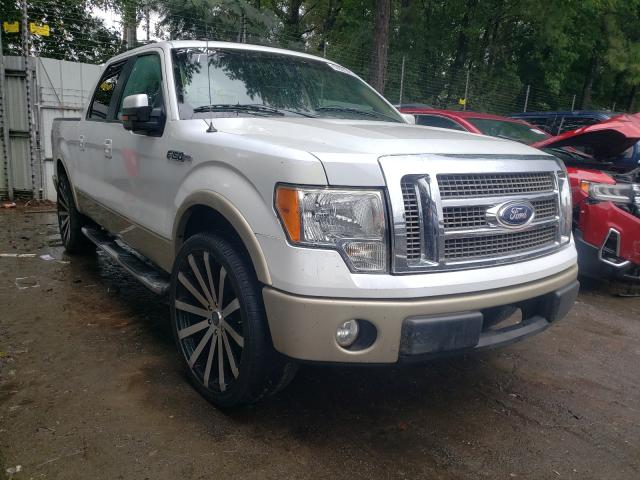 Salvage cars for sale from Copart Austell, GA: 2009 Ford F150 Super