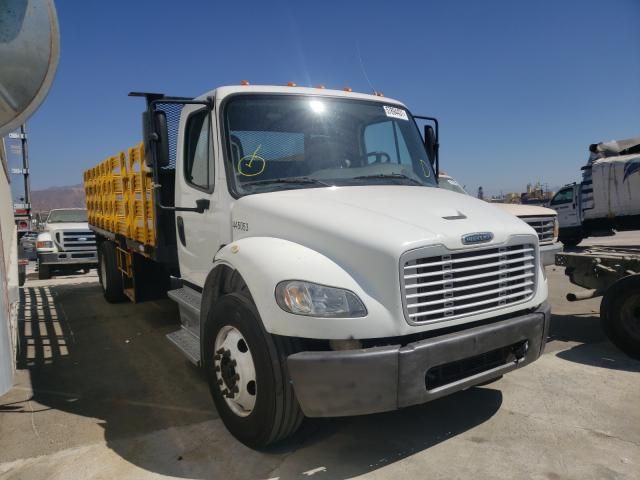 Upcoming salvage trucks for sale at auction: 2018 Freightliner M2 106 MED