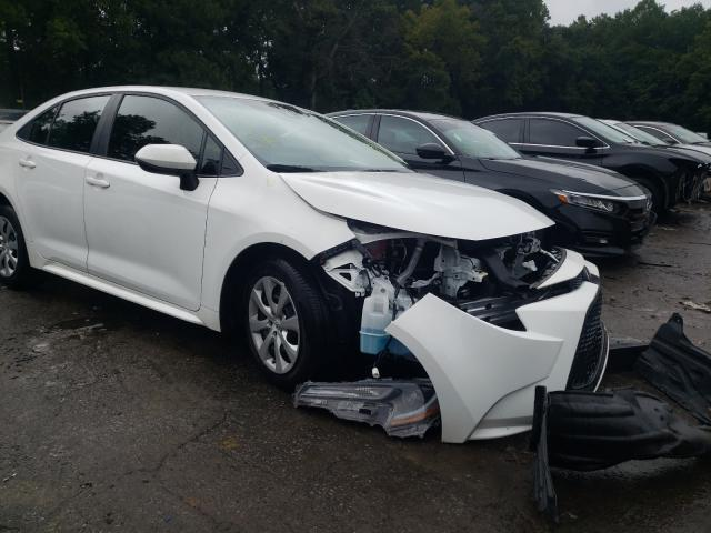 Salvage cars for sale from Copart Austell, GA: 2021 Toyota Corolla LE
