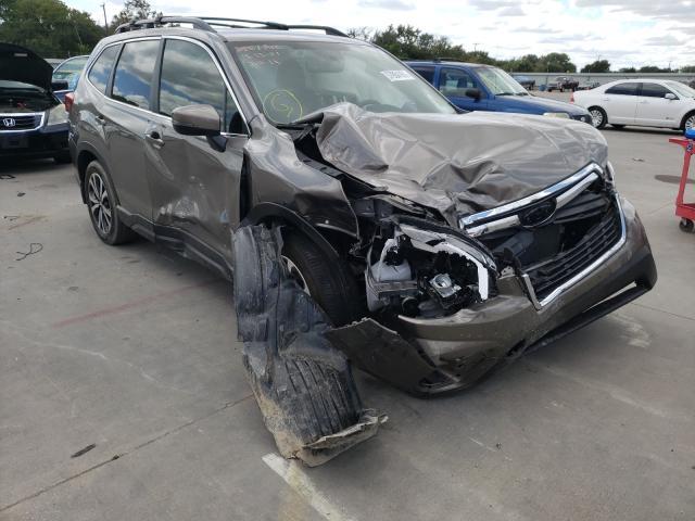 Vehiculos salvage en venta de Copart Wilmer, TX: 2021 Subaru Forester L