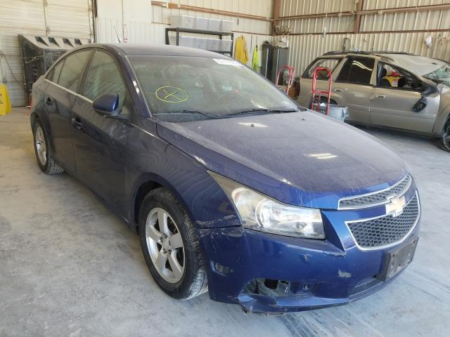 Salvage cars for sale from Copart Abilene, TX: 2012 Chevrolet Cruze LT