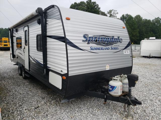 Springdale salvage cars for sale: 2017 Springdale Travel Trailer