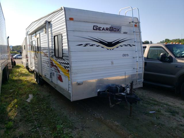 Salvage cars for sale from Copart Madison, WI: 2006 Fleetwood Trailer