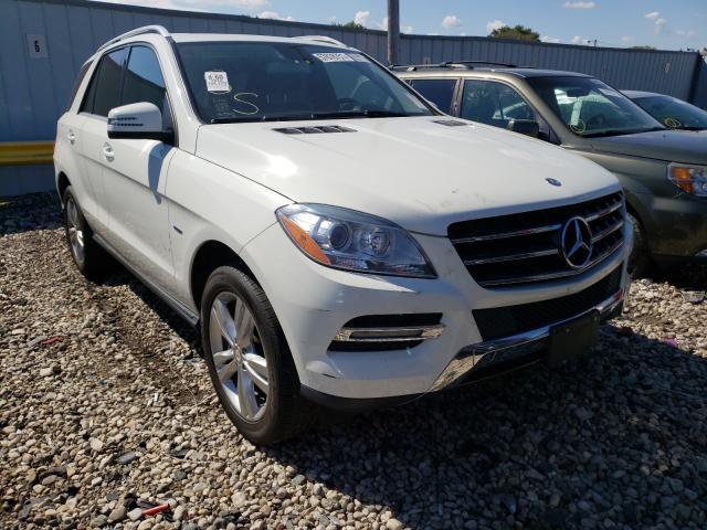 Vehiculos salvage en venta de Copart Cudahy, WI: 2012 Mercedes-Benz ML 350 4matic