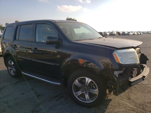Vehiculos salvage en venta de Copart Martinez, CA: 2015 Honda Pilot SE