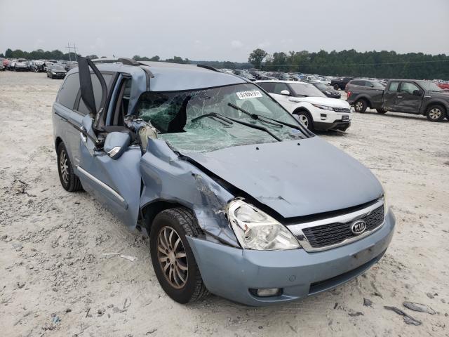 KIA salvage cars for sale: 2011 KIA Sedona EX