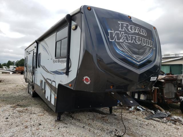 Heartland Roadwarrio Vehiculos salvage en venta: 2016 Heartland Roadwarrio