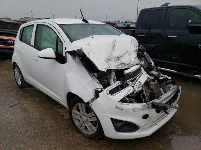 Salvage cars for sale at Riverview, FL auction: 2015 Chevrolet Spark 1LT