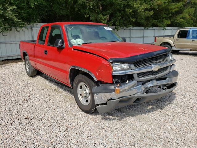 Salvage cars for sale from Copart Knightdale, NC: 2004 Chevrolet Silverado