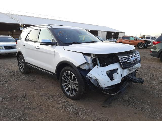 Salvage cars for sale from Copart Phoenix, AZ: 2018 Ford Explorer P