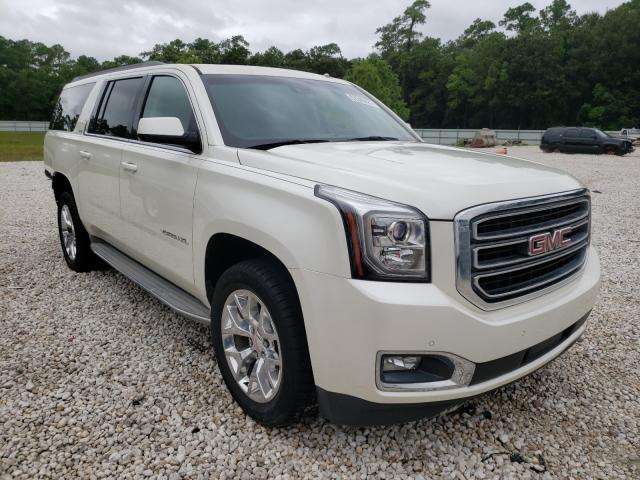 Salvage cars for sale from Copart Houston, TX: 2015 GMC Yukon XL C