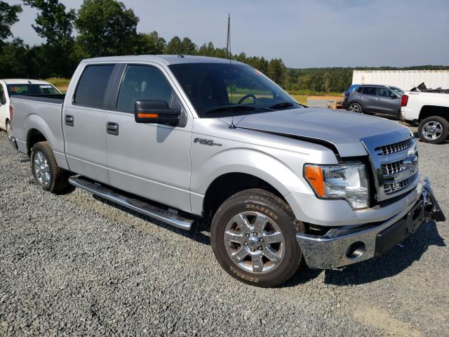 Salvage cars for sale from Copart Concord, NC: 2014 Ford F150 Super