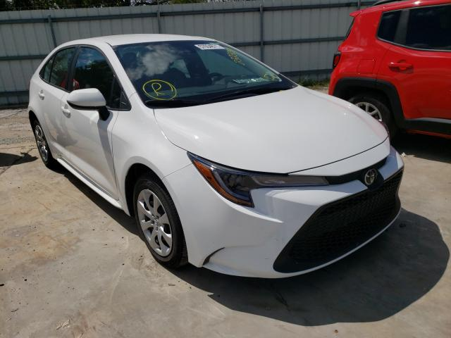 Salvage cars for sale from Copart Corpus Christi, TX: 2021 Toyota Corolla LE