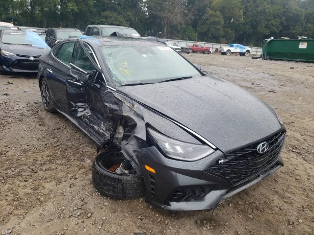 Salvage cars for sale from Copart Austell, GA: 2021 Hyundai Sonata N L