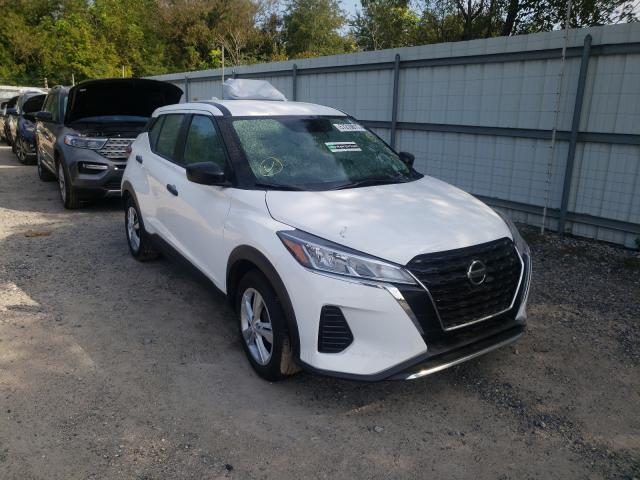 Salvage cars for sale from Copart Glassboro, NJ: 2021 Nissan Kicks S