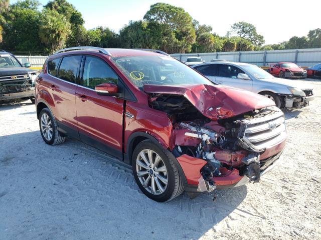 Ford Escape salvage cars for sale: 2017 Ford Escape