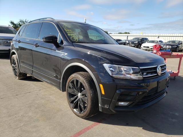 Vehiculos salvage en venta de Copart Wilmer, TX: 2021 Volkswagen Tiguan SE