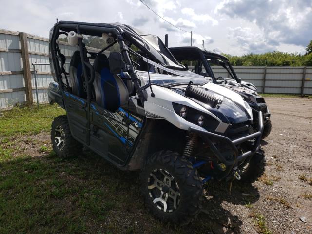 Salvage cars for sale from Copart Davison, MI: 2020 Kawasaki KRT800 C
