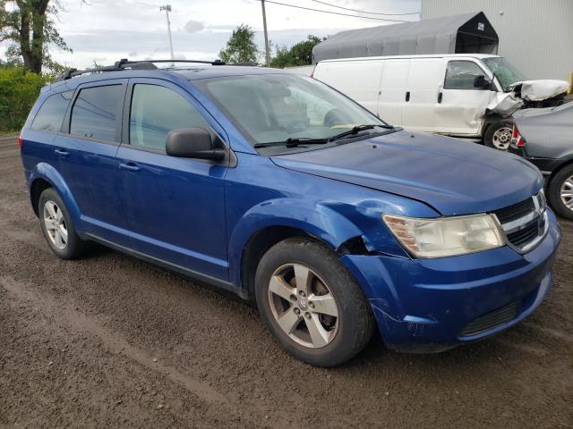 Salvage cars for sale at Montreal Est, QC auction: 2009 Dodge Journey SE