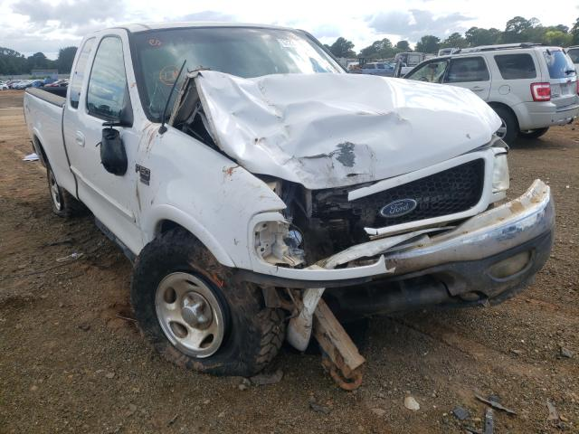 Salvage trucks for sale at Longview, TX auction: 2002 Ford F150