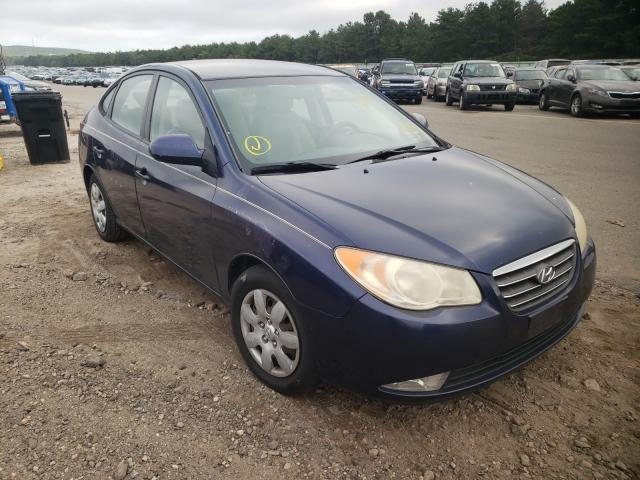 Salvage cars for sale from Copart Brookhaven, NY: 2009 Hyundai Elantra GL
