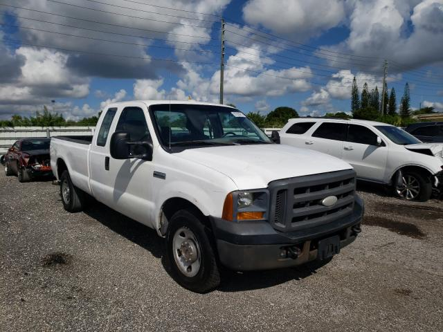Salvage cars for sale from Copart Miami, FL: 2005 Ford F250 Super