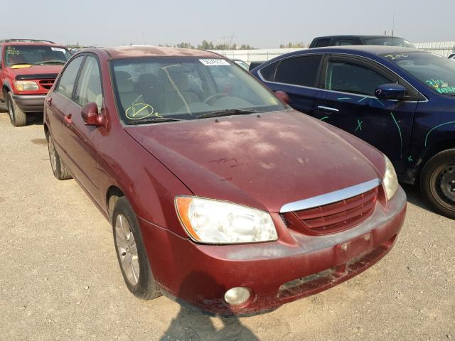 Salvage cars for sale from Copart Anderson, CA: 2005 KIA Spectra LX