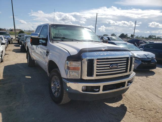 Salvage cars for sale from Copart West Palm Beach, FL: 2010 Ford F250 Super