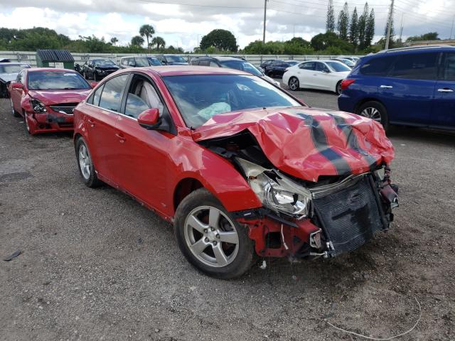 Chevrolet salvage cars for sale: 2012 Chevrolet Cruze LT