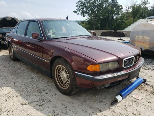 Salvage cars for sale from Copart Warren, MA: 1999 BMW 740 IL